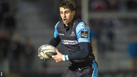 Peter Murchie scored two tries