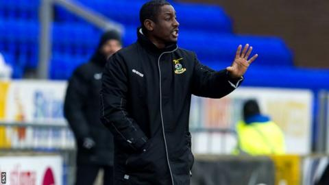 Inverness Caledonian Thistle assistant manager Russell Latapy