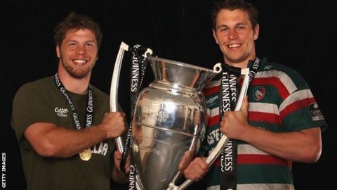 Brett and Louis Deacon