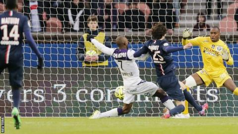 Adrien Rabiot scores for Paris St-Germain