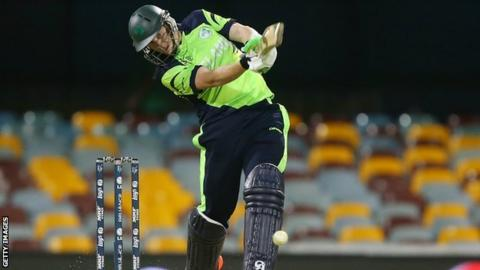 Ireland batsman Kevin O'Brien