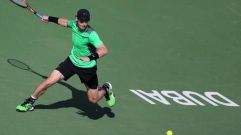 Andy Murray in Dubai