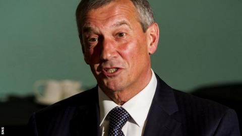 SFA president Campbell Ogilvie
