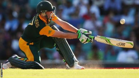 South Africa batsman AB De Villiers