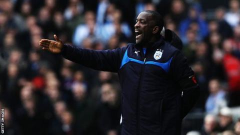 Huddersfield manager Chris Powell