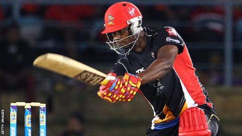 West Indies batsman Johnson Charles