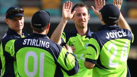 Ireland have beaten the West Indies and United Arab Emirates at the 2015 World Cup