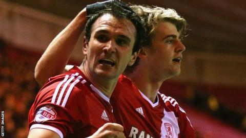 Middlesbrough strikers Kike and Patrick Bamford