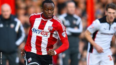 OAdubajo was signed from Leyton Orient last summer.