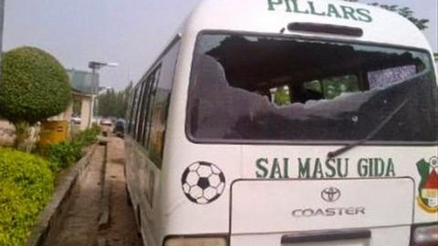 Kano Pillars's bus was attacked by gunmen