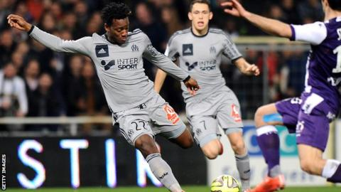 Marseille forward Michy Batshuayi