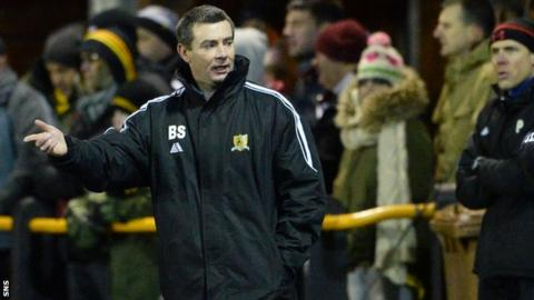 Barry Smith has resigned from Alloa