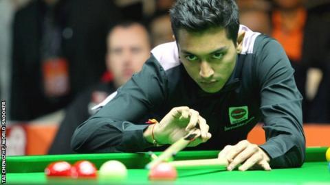 India's number one player Aditya Mehta
