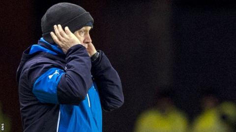 Rangers caretaker manager Kenny McDowall