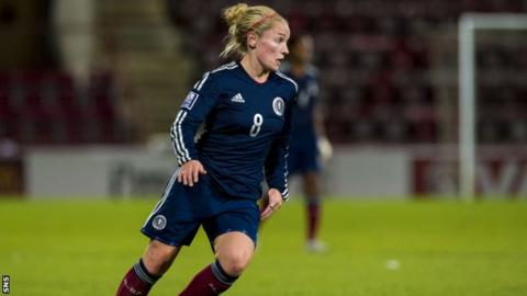 Scotland's Kim Little has scored five goals in this year's Cyprus Cup.