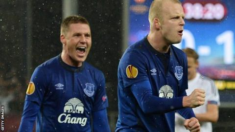 James McCarthy and Steven Naismith
