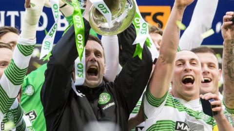 Ronny Deila (left) and Scott Brown are both fan favourites.