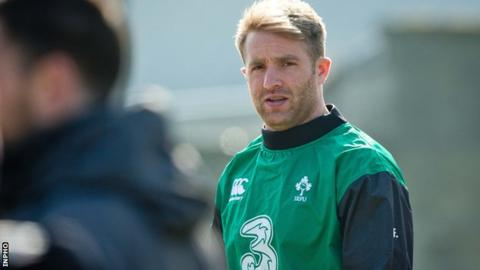 Luke Fitzgerald poised to make first start for Ireland since 2011 against Scotland on Saturday