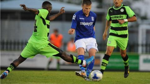 Former Watford and Forest Green midfielder Al Bangura