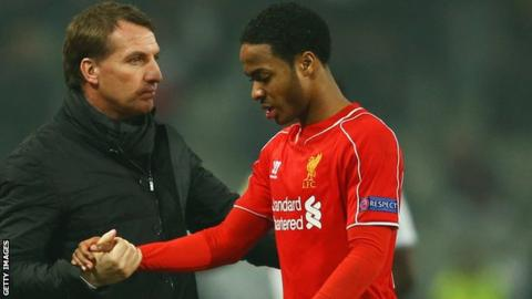 Brendan Rodgers and Raheem Sterling
