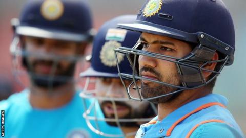 India opener Rohit Sharma