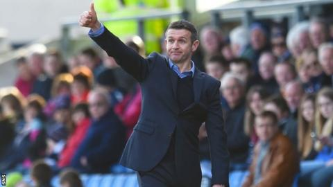 Ross County manager Jim McIntyre is still wary about the threat of relegation