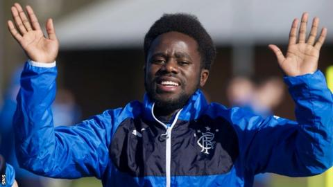 Gael Bigirimana joined Rangers on loan from Newcastle in January