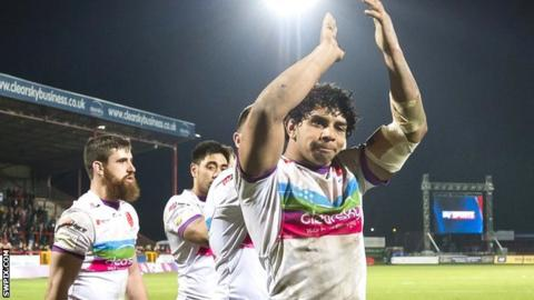 Albert Kelly has scored six tries in seven games for Hull KR since arriving from Australian NRL side Gold Coast Titans