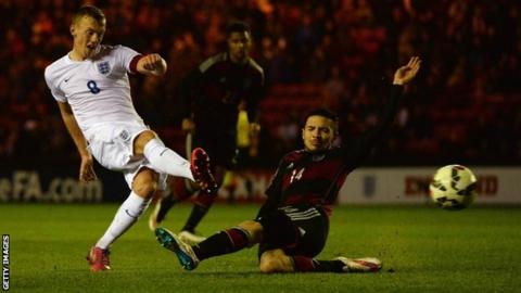 James Ward-Prowse scores the winner for England