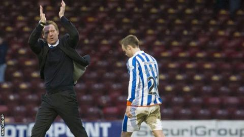Gary Locke has lost just one of the seven matches he has overseen as manager