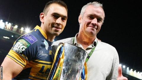 Kevin Sinfield and Brian McDermott