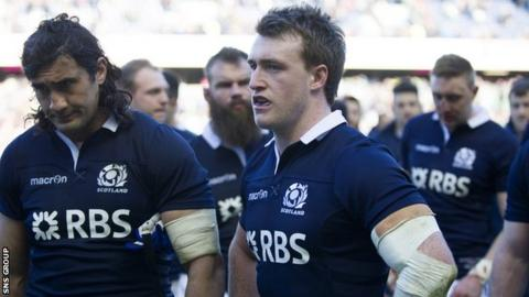 Scotland lost all of their Six Nations matches this year