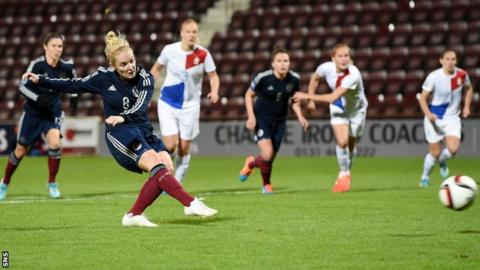 Kim Little will travel from club commitments in Seattle to play for Scotland
