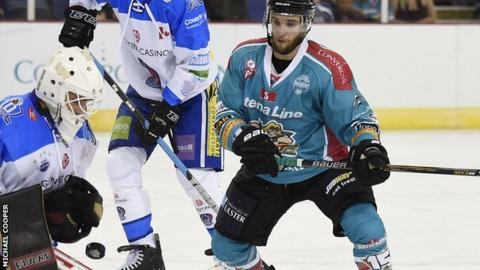 The Belfast Giants lost to Coventry in a penalty shoot-out