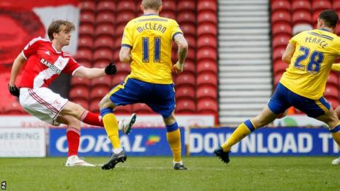 Patrick Bamford scores for Middlesbrough