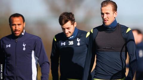 Andros Townsend, Ryan Mason and Harry Kane
