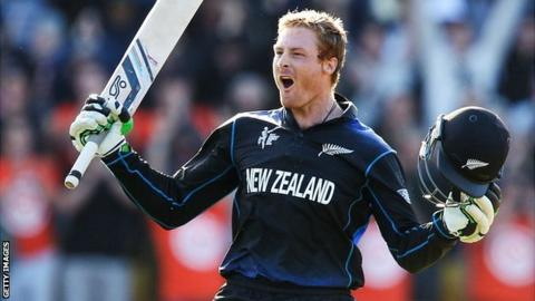 New Zealand batsman Martin Guptill