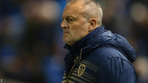 Leeds manager Neil Redfearn