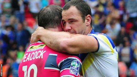 Adrian Morley and Jamie Peacock