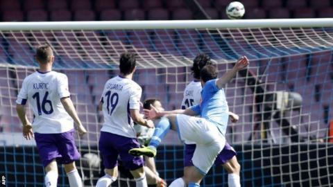 Napoli v Fiorentina