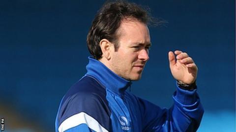 Birmingham City Ladies manager David Parker