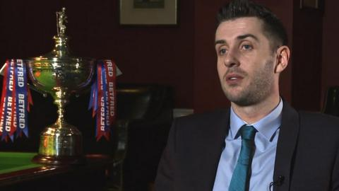 Defending champion Mark Selby