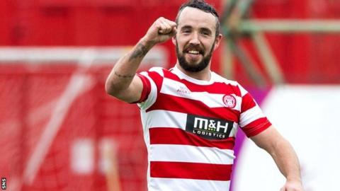 Dougie Imrie is in his second spell with Hamilton Accies