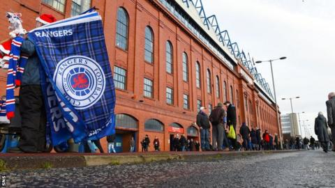 Rangers have been fined a total of £5,500