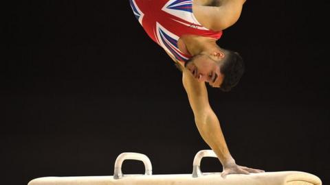 Louis Smith wins European Gymnastics gold on comeback