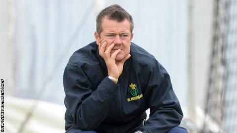 Glamorgan head coach Toby Radford