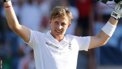 Joe Root's unbeaten 118 came off 165 balls and feature two sixes and 13 fours