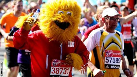 Marathon fun-runner