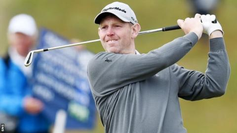 Stephen Gallacher was part of the victorious Europe 2014 Ryder Cup-winning team