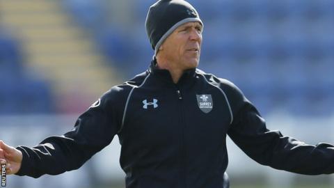 Surrey Director of Cricket Alec Stewart